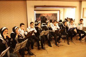 اجرای ارکستر خانه سازدهنی در نوای شهرآشوب