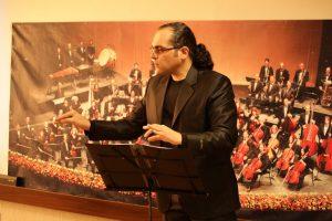 شهرام شادان فر در بیست و نهمین جشنواره موسیقی فجر